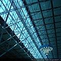 桃園機場第二航廈屋頂