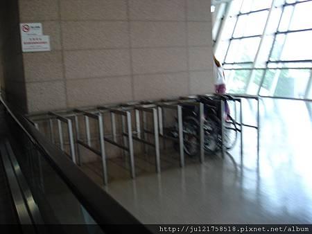 GATE前的輪椅