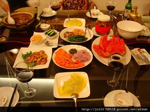 2011年春節到盧州家聚餐