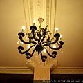 上海之旅-最老的花園飯店-錦江飯店老夜上海餐廳-水晶燈