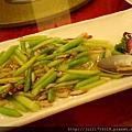 老上海餐廳名菜蟹柳蘆筍