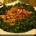 老上海餐廳名菜乾煸筍子
