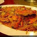 老上海餐廳炒螃蟹
