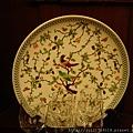 老上海餐廳盤中畫