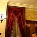 老上海餐廳華麗絨布窗簾