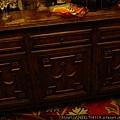 老上海餐廳櫃子精緻雕花