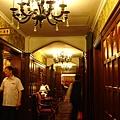 老上海餐廳走道