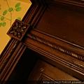 老上海餐廳門柱雕花