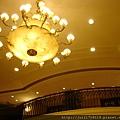 錦北樓大廳水晶燈