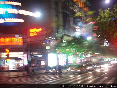 上海之旅-回飯店QK