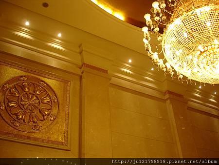 上海的飯店大廳裝璜
