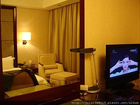 上海的飯店房間裝璜