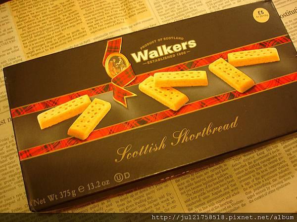 英國百年WALKERS奶油餅乾