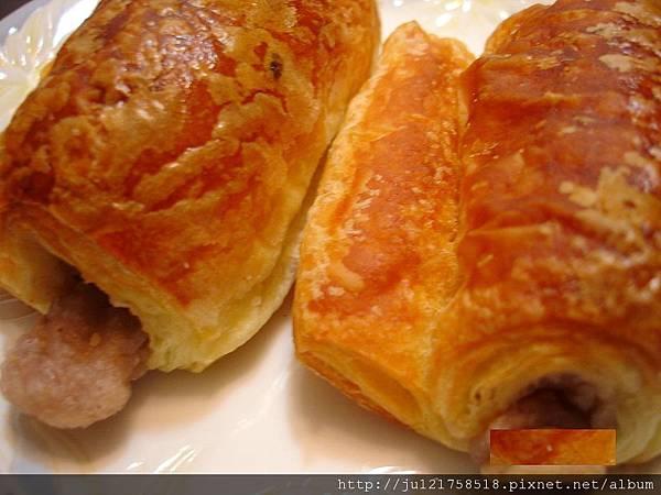 聖瑪莉麵包店(芋頭卷心酥+香草餐包+雙色布丁舒芙蕾)