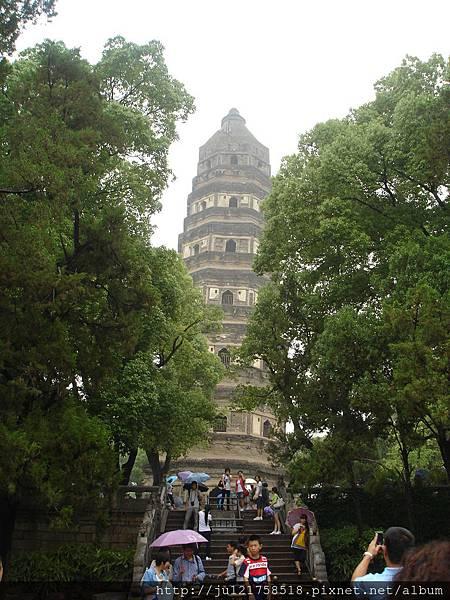 上海之旅-虎丘(中國第一斜塔)2011