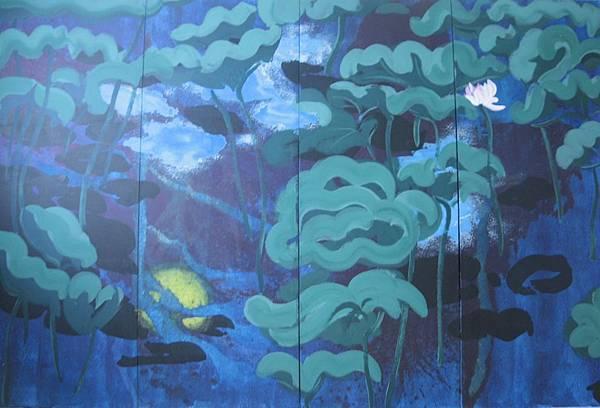 倪心安油畫展 2011年7月2日~7月21日 滿足藝術中心舉行 新北市淡水沙崙路25巷14之1號1樓