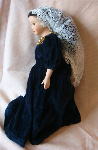 古典西洋陶瓷娃娃之 「路易十四的情人」