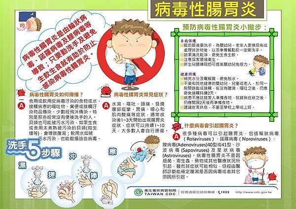 病毒型腸胃炎