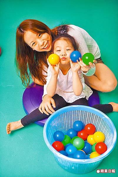 幼兒玩遊戲 培養感覺統合