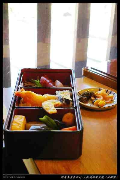 大阪章魚燒定食