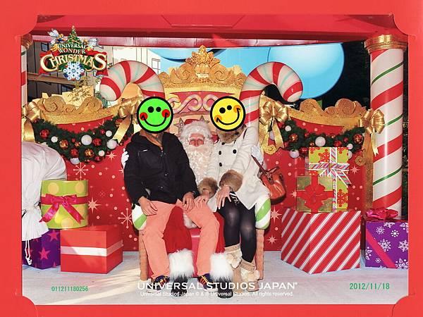 20121116USJ (820)聖誕老公公公公的合照