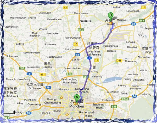 Feising map