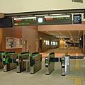 凌晨冷清的函館車站
