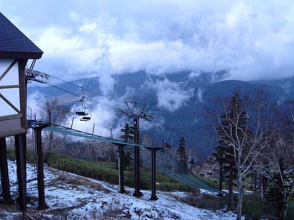 乘纜車上黑岳