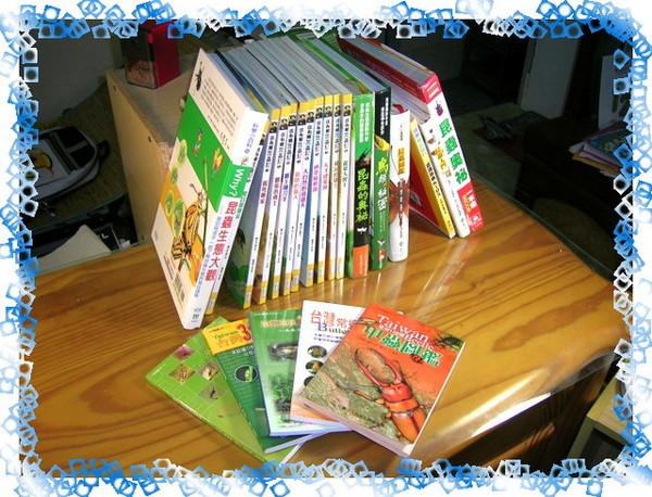 我有這麼多昆蟲書