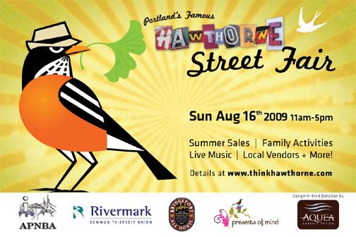Hawthorne Street Fair 2009