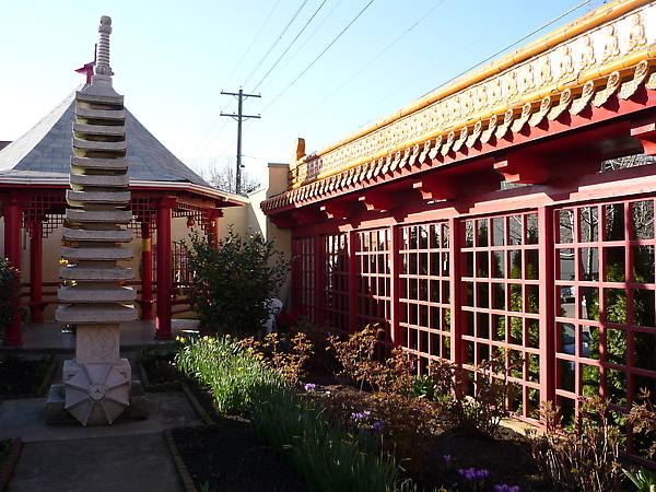 妙法禪寺花園