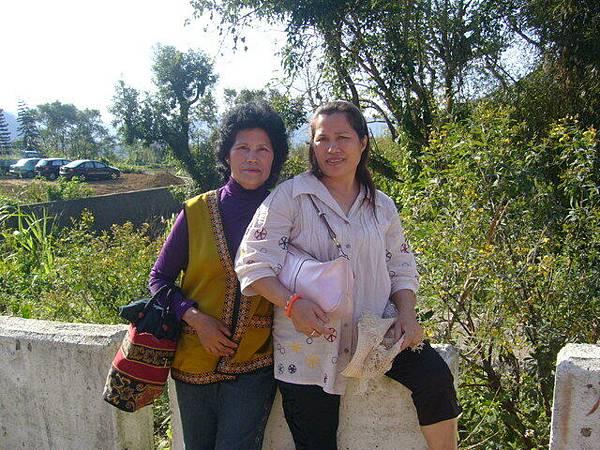 山上阿姨和老媽