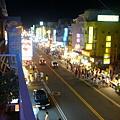 陽台上可以看到墾丁大街