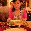 餐前麵包+主餐+紅酒 10磅