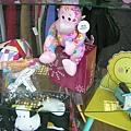 粉紅色猴子