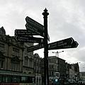 Cardiff路牌