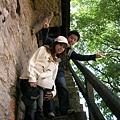 爬上羅藤堡的城牆