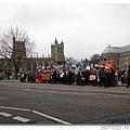 20070322 Bristol Protest 其實還蠻多人的
