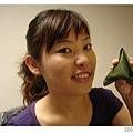20070616慶端午 人生中包的第一個粽子