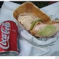 20070720-22London 鮭魚Pitta1.95磅還蠻大的喔!!!