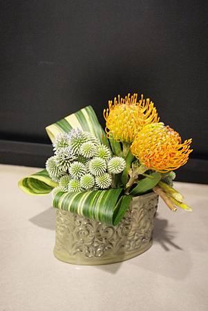 投入式小盆花