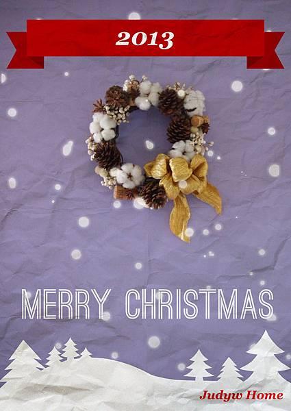 2013年聖誕花圈