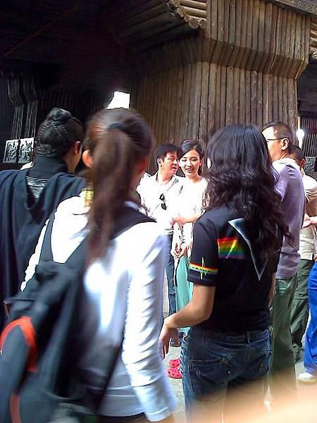 2009年大陸橫店拍攝現場---編劇助手森林