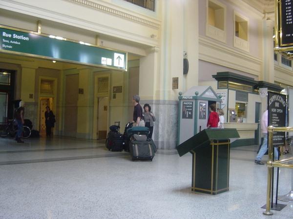 溫哥華火車站