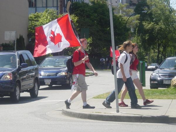 七月一日是加拿大國慶呢