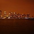 不太清楚的曼哈頓夜景