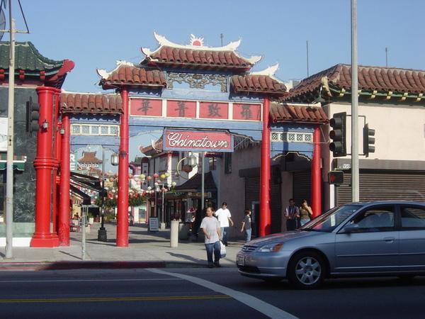 市區內的中國城