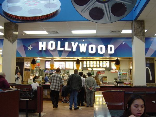 連麥當勞都很Hollywood喔