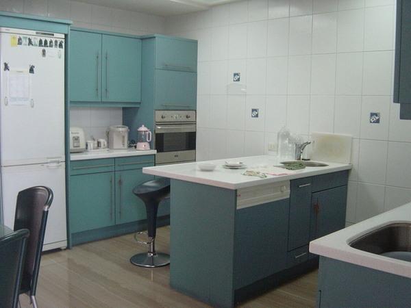 家裡的廚房