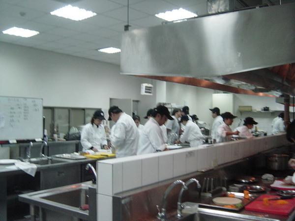 西餐實習教室